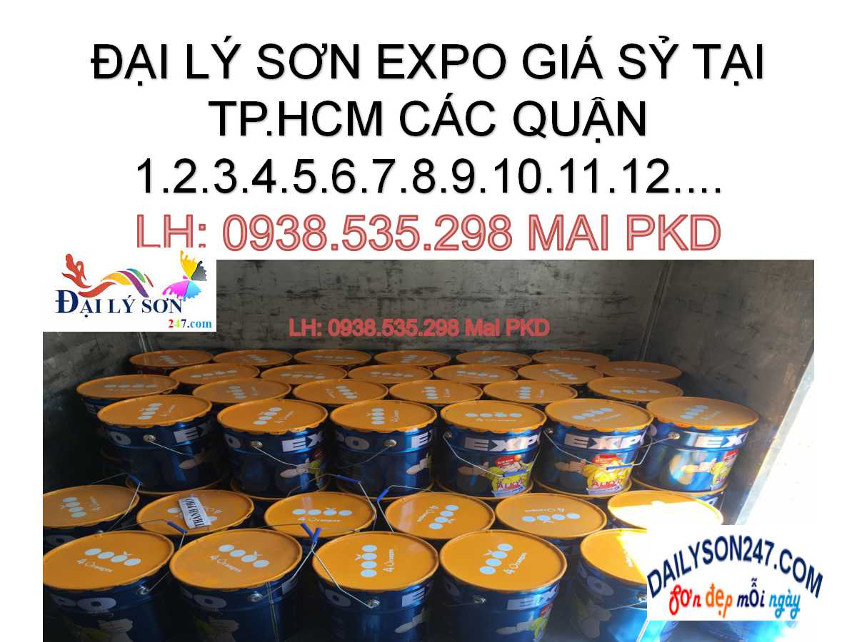 SƠN DẦU EXPO GIÁ RẺ TẠI TPHCM